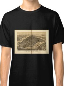 Panoramic Maps The city of New York1 Classic T-Shirt