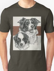 Border Collie Father & Son T-Shirt