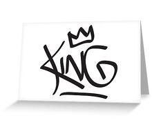 King Tag Greeting Card