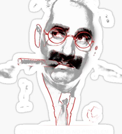 groucho Sticker