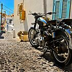 royal enfield in greece by meirionmatthias