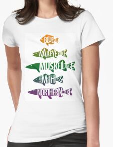 Fishhh! Womens Fitted T-Shirt