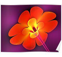 Dynamite Flower Poster