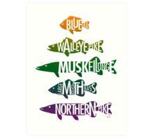 Fishhh! Art Print
