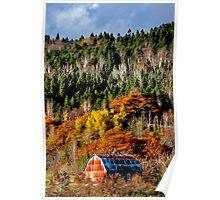 Autumn Rust Poster