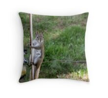 I do this for peanuts Throw Pillow