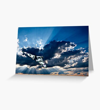 the wide blue yonder Greeting Card