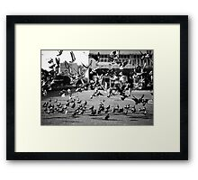 moment of takeoff II Framed Print