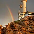 Point Lonsdale Lighthouse (2) by Christine Smith