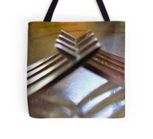 friendly forks..... Tote Bag