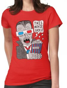 This Movie Sucks Womens Fitted T-Shirt