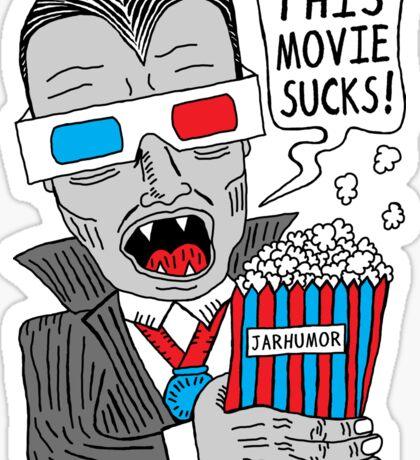 This Movie Sucks Sticker