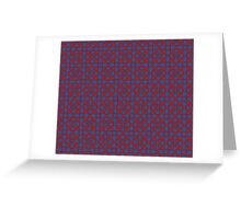 Line of Durin pattern Greeting Card
