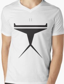Minimalist Clone Trooper Mens V-Neck T-Shirt