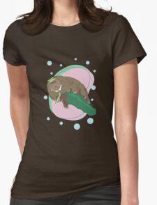 Yogi Water Bear Womens Fitted T-Shirt