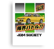 Mitsubishi Evolution III Canvas Print