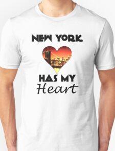 New York Has My Heart T-Shirt
