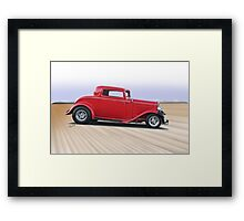 1932 Ford 'Dropped Top' Coupe II Framed Print