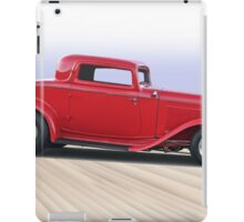 1932 Ford 'Dropped Top' Coupe II iPad Case/Skin