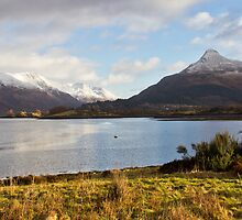 Loch Leven,And The Pap Of Glencoe,Highlands,Scotland. by ninjabob