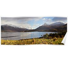 Loch Leven,And The Pap Of Glencoe,Highlands,Scotland. Poster