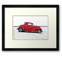 1932 Ford 'Dropped Top' Coupe I Framed Print
