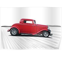 1932 Ford 'Dropped Top' Coupe I Poster