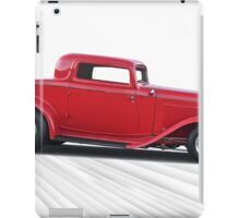 1932 Ford 'Dropped Top' Coupe I iPad Case/Skin