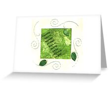 Friendship Improves Happiness Greeting Card