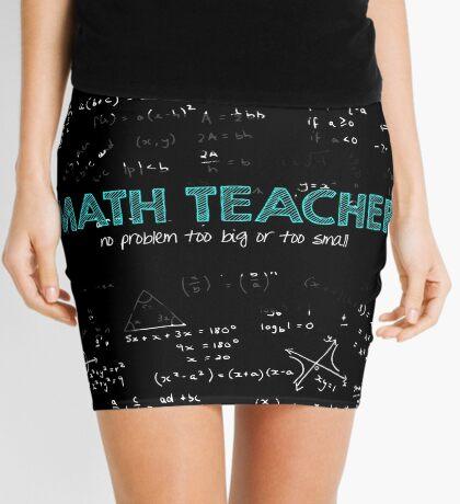 Math Teacher (no problem too big or too small) Mini Skirt