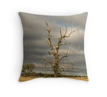 Dead tree (Bonshaw, NSW) Throw Pillow