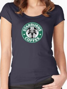 Starburns Coffee Women's Fitted Scoop T-Shirt
