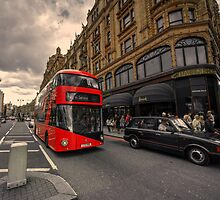 A new bus for London  by Rob Hawkins