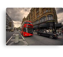 A new bus for London  Canvas Print