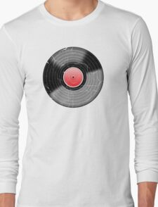 Vinyl Record 2 Worn Well (please see notes) Long Sleeve T-Shirt