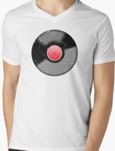 Vinyl Record 2 Worn Well (please see notes) Mens V-Neck T-Shirt