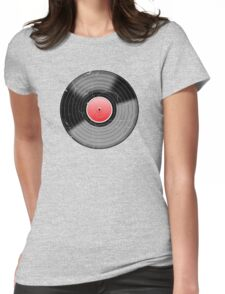 Vinyl Record 2 Worn Well (please see notes) Womens Fitted T-Shirt