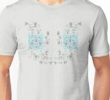 Blue Post-it Unisex T-Shirt