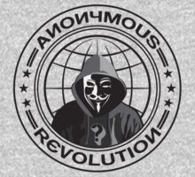 Anonymous Revolution Kids Clothes