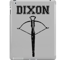 Daryl Dixon Crossbow (black) iPad Case/Skin