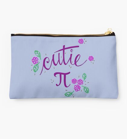Cutie Pi (Purple) Studio Pouch