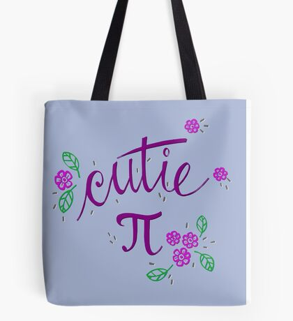 Cutie Pi (Purple) Tote Bag
