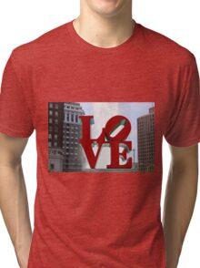 Love Park Tri-blend T-Shirt