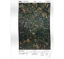 USGS Topo Map Washington State WA Raven Roost 20110428 TM Poster