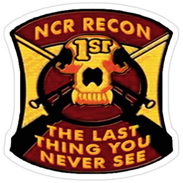 NCR 1st Recon Sticker by CaptainJeff