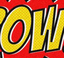 POW Comic Action Sticker