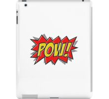 POW Comic Action iPad Case/Skin