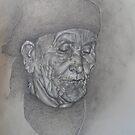 Portrait of Moroccan Berber by David  Calleja