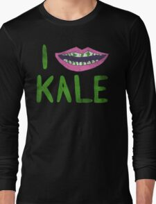 I Heart Kale Long Sleeve T-Shirt