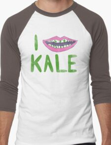 I Heart Kale Men's Baseball ¾ T-Shirt